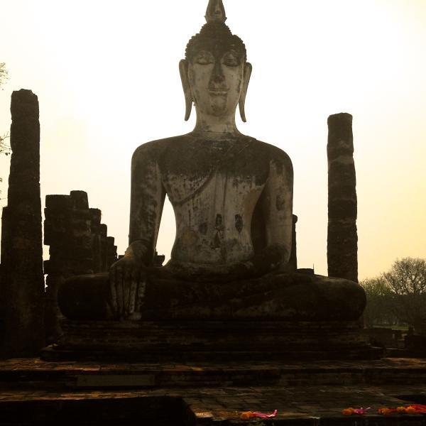 Ancient Buddhist ruines
