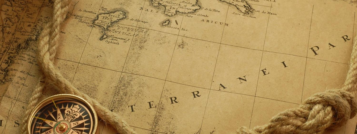 photo of old map