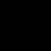 gavel icon in black