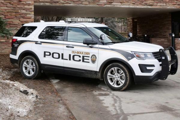 CU Boulder Police on scene
