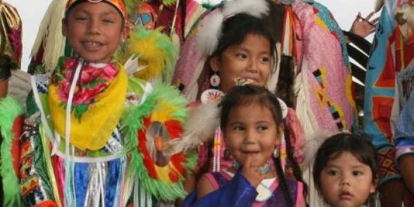 Arapaho dancers