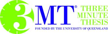 The 3MT logo from the University of Queensland