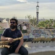 CU Boulder College of Music doctoral student tenor saxophonist Pablo Beltran