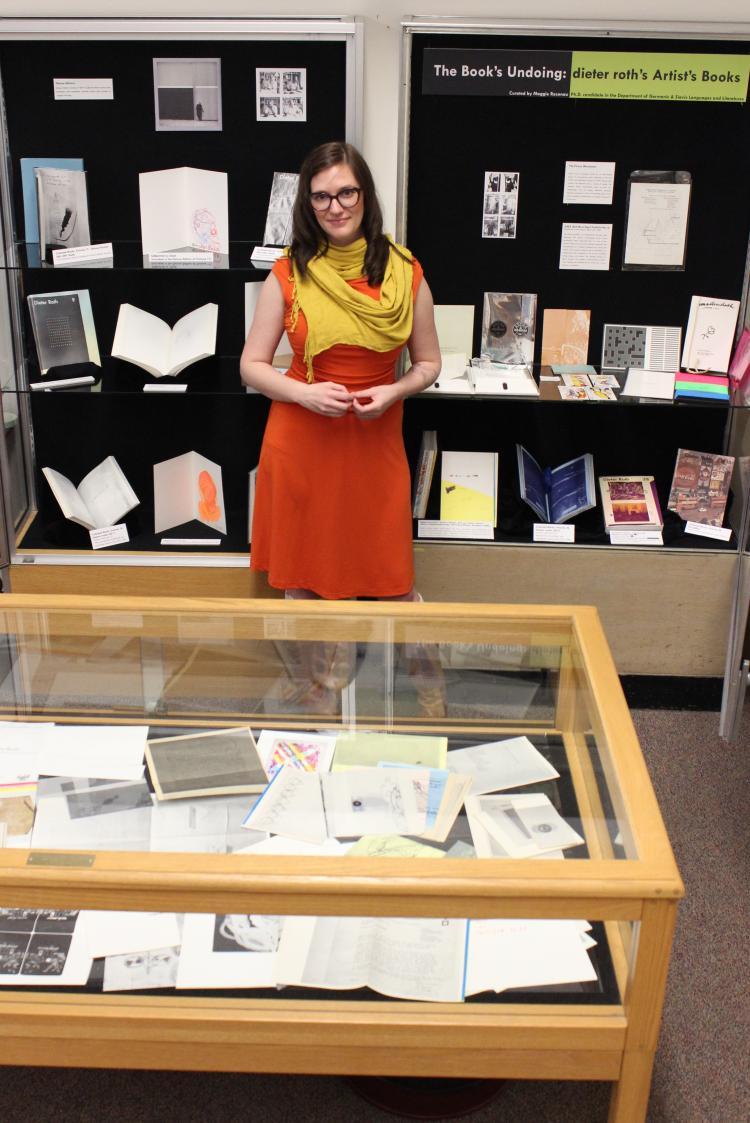 German PhD student Maggie Rosenau curates exhibit at CU's ...