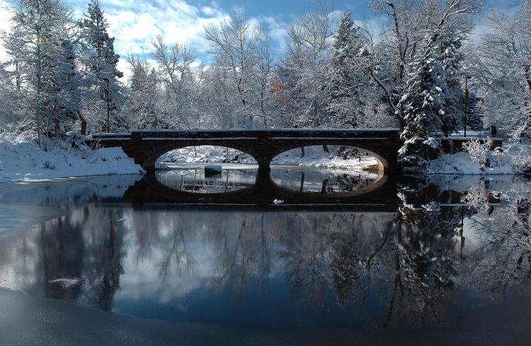 varsity pond bridge