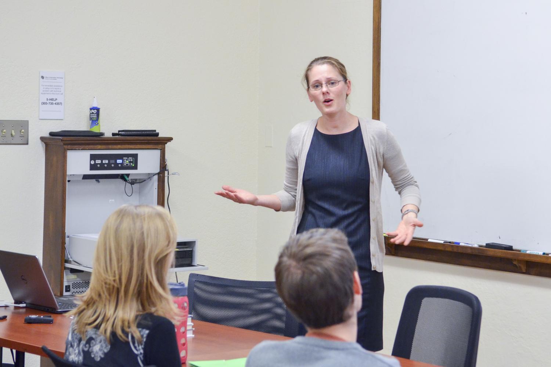 Berit Jany teaching