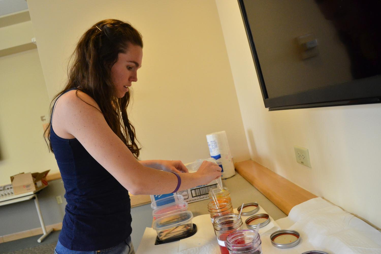egg painting workshop