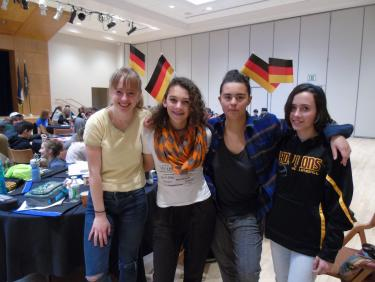 Students in German language immersion day