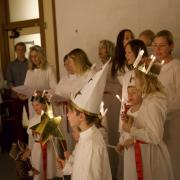 Boulder choir of adults and children sing Lucia songs