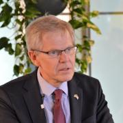 Swedish Ambassador Bjorn Lyrvall