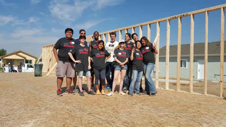 Guardian Scholars students volunteer for Habitat for Humanity