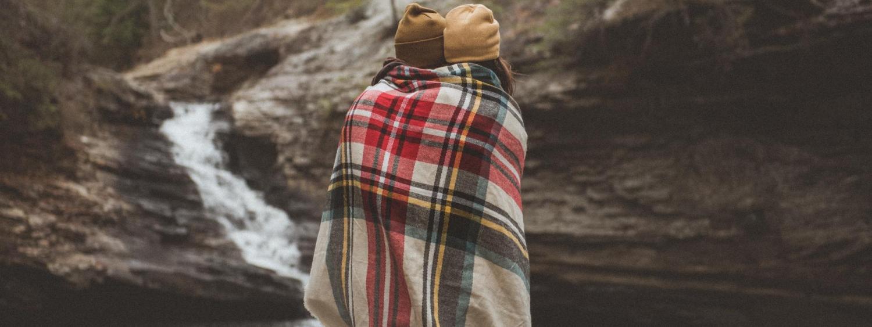 People under blanket