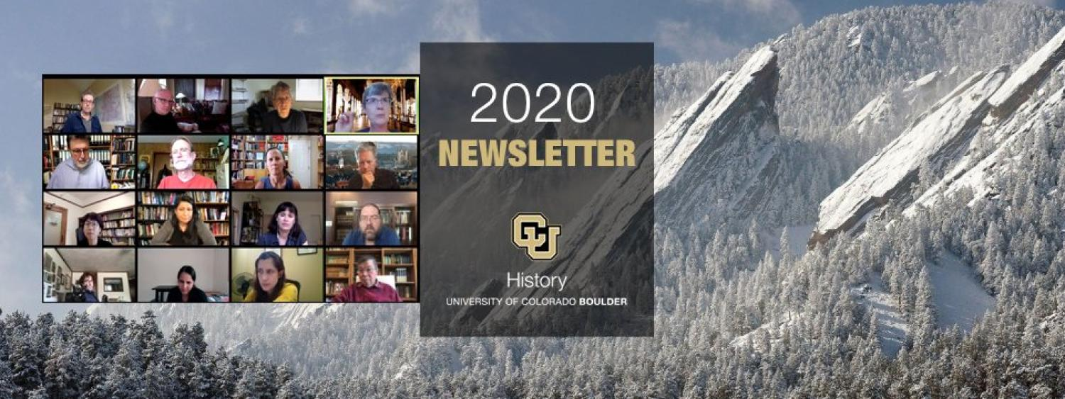 CU Boulder Department of History 2020 Newsletter