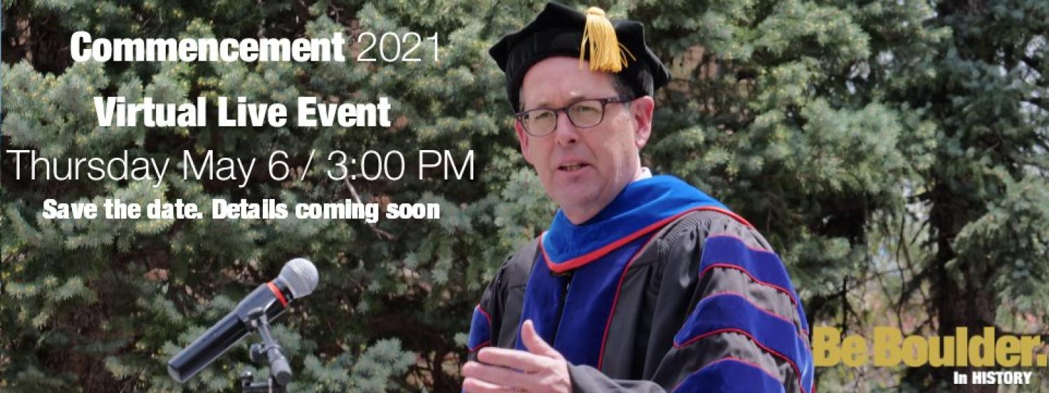 Department of History Commencement 2021
