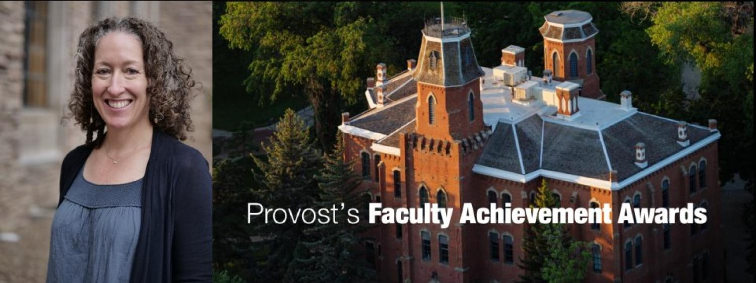 Historian Honor Sachs receives Provost's Faculty Achievement Award