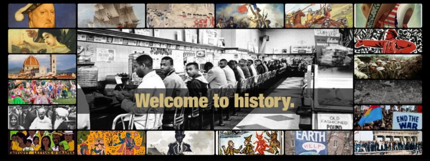 Welcome to history.