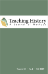 Cover of Teaching History Journal