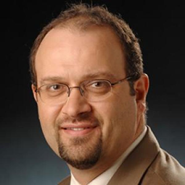 Robert L Stearns Award winner Paul Mintken
