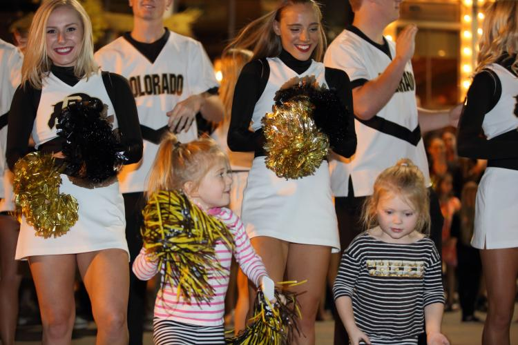 homecoming parade and pep rally