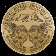 forever buffs student award medal