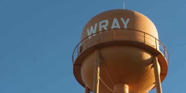 Wray, CO water tower