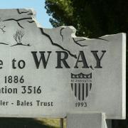 Wray Colorado Sign