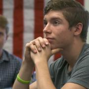 Students in the classroom on constitution day