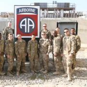 On tour in Afghanistan