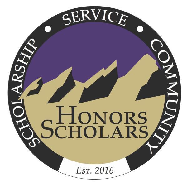 Honors Scholars seal