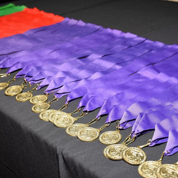 Latin honors medals