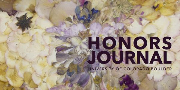 Cover of the 2016 Honors Journal