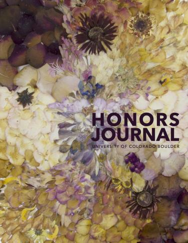 Cover of the 2016 edition of the Honors Journal