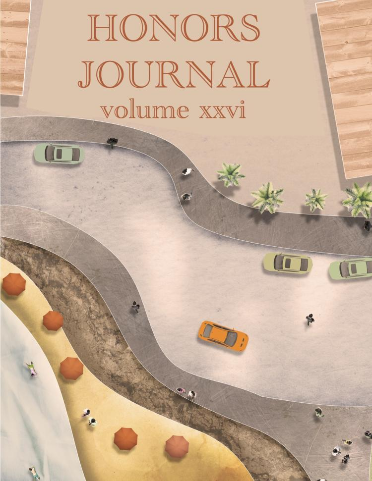 2021 Honors Journal cover image