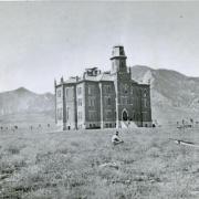 Old Main in 1876