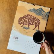 Buffalo Calendar