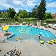 Buffalo Pool at CU Rec Center