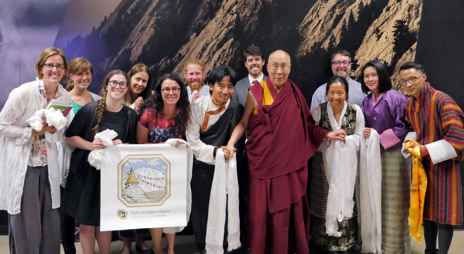 THI Audience with HHDL