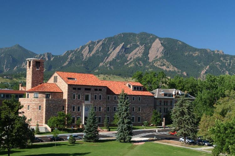 Humanities Building at CU Boulder