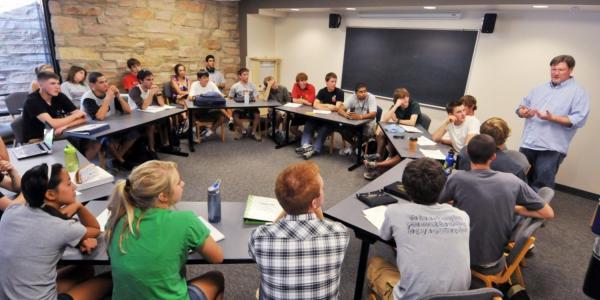 classroom at cu boulder
