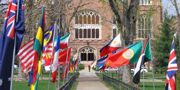 flags near macky