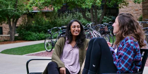 hang out near the ponds in the Kittredge Commons area. (Photo by Patrick Campbell/University of Colorado)