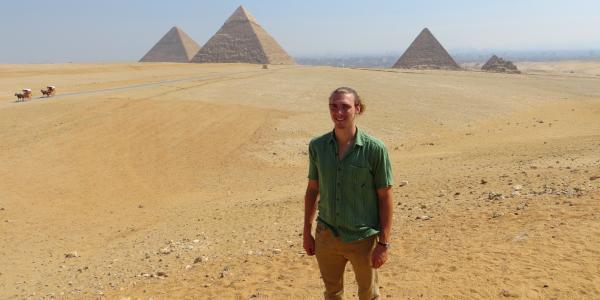 kieran in egypt