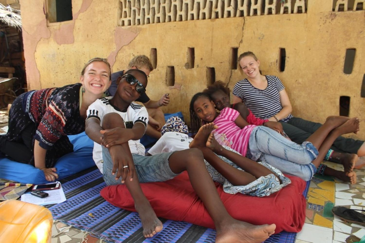 Learning Traditions of Senegal: IAFS Student Visits the