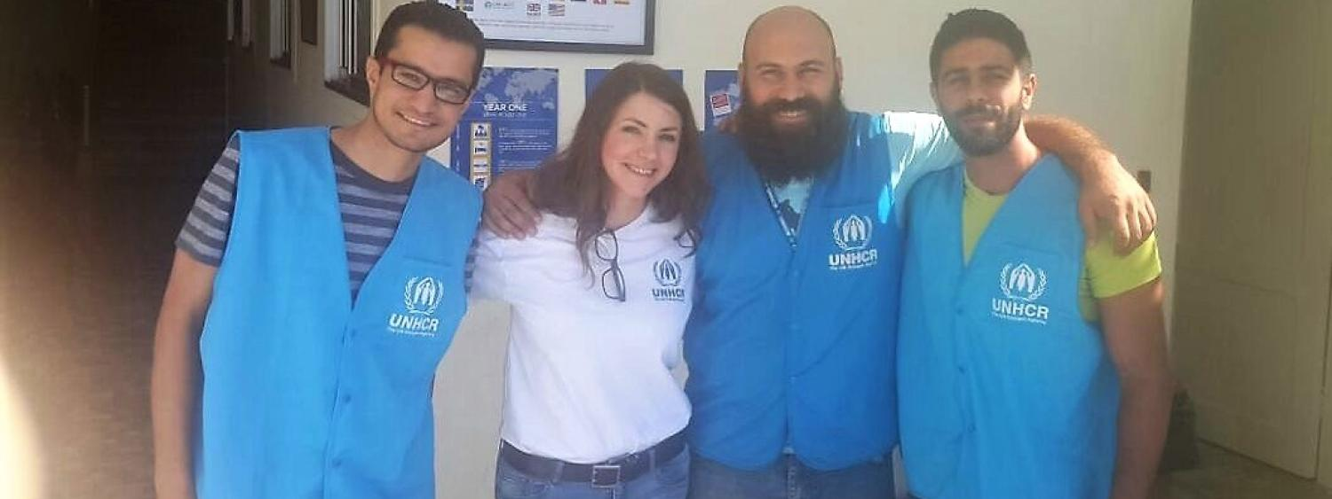 bendelow and 3 colleagues working in lebanon