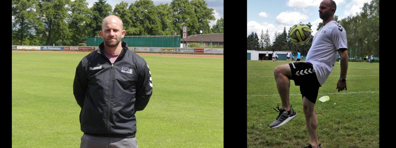 carlson on soccer field