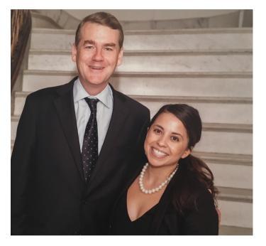 macarena and senator bennet