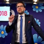 The Sweden Democrats party leader, Jimmie Åkesson TT NEWS AGENCY / REUTERS
