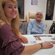 rachael at elderly home in spain