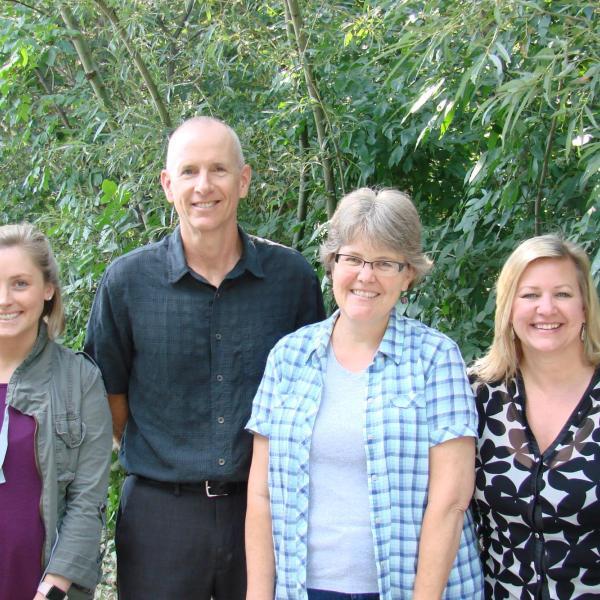 Administrative Staff - Katie Sheehan, Sean Shelby, Janna Vannorsdel and Wendy Senger