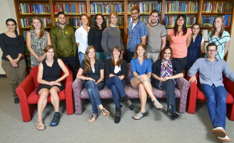 2014 Graduate Students